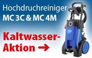 Nilfisk MC 4M-180//740 XT  Mobiler Kaltwasser Hochdruckreiniger 180 bar//740 l//h
