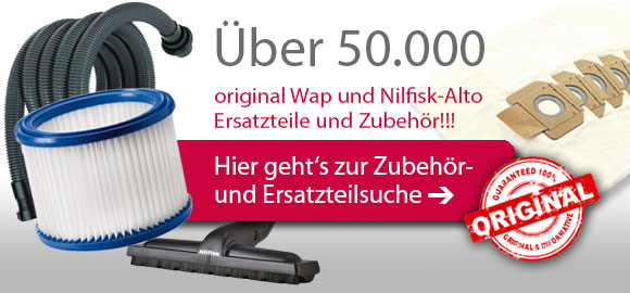 Gut bekannt Wap Nilfisk Alto Shop XW45